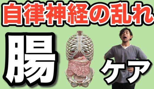 【自律神経整える 自律神経失調症改善】腸マッサージ